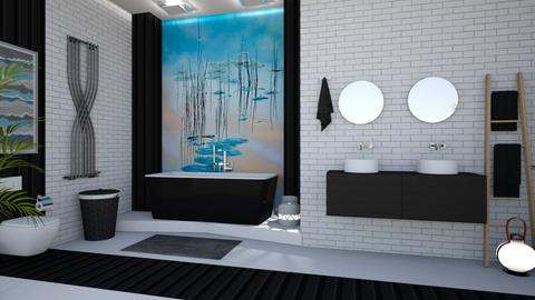 Lily Pond Bathroom - Bathroom - by matina1976