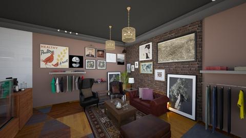 Gallery Cafe Bar View 6 - Modern - by Ejad Shukri