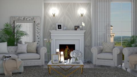 Art Deco Living 2 - Living room  - by KittyKat28