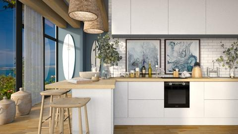 Ocean Inspired Kitchen - Kitchen  - by MiaM