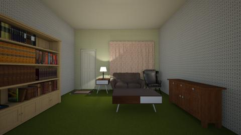 Retro Green - Living room  - by mspence03