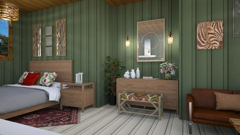 container bedroom - Living room  - by zayneb_17