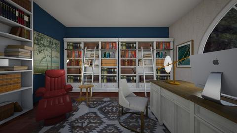 biblioteca - Living room  - by bruna matos
