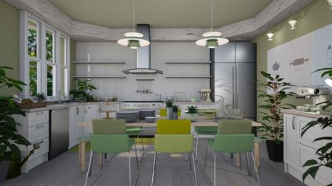 green dining - by TTD