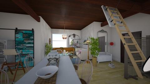 Apartment Medium - Living room  - by AngieDrws