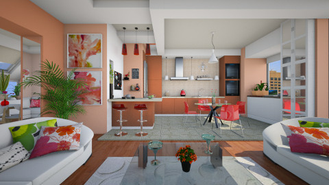 Color Fusion - Kitchen  - by Violetta V
