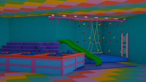 Fun Factory - Retro - Kids room  - by karina ae