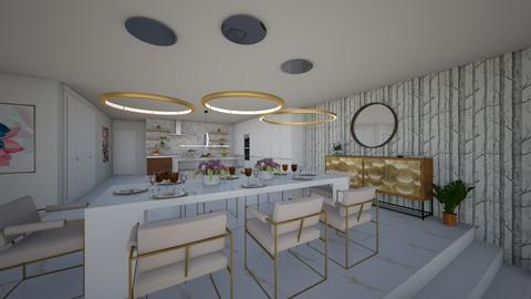 TOWNHOUSE - Dining room - by flacazarataca_1