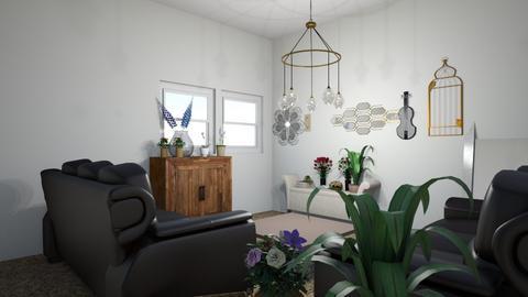 plant homeeee - Living room  - by greekgirl37