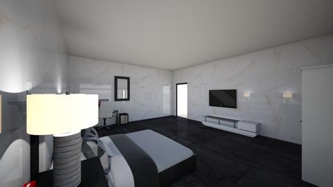 uwu123 - Modern - Bedroom  - by felipeeeess