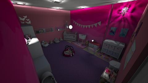 Baby Girl Room - Glamour - Kids room  - by Stavroula Chatzina