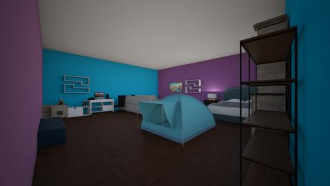 Thomas Bujold  - Bedroom  - by simards
