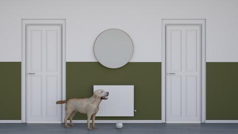 Inspiration 4 my Hallway - Vintage - by HenkRetro1960