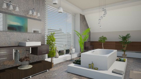 Casa Villa Bath - Bathroom  - by Ania Daliva