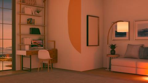 Floor lamp  - by FANGIRLdesigner