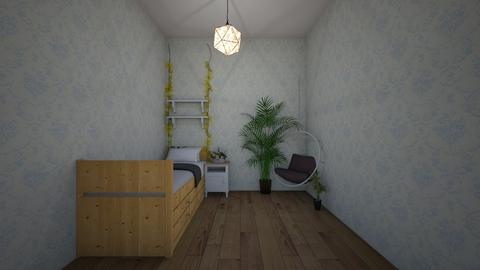 plant bed room - Bedroom  - by kitcatbar