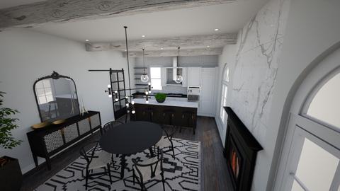 Modern Elegance view 4 - Kitchen  - by LadyRudolph