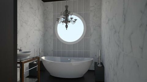 Nakagi Capsule Room 2 - Modern - Bathroom  - by clairelist07