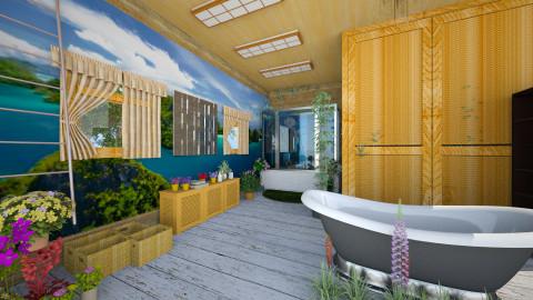 bohemian - Modern - Bathroom  - by abraham samangun
