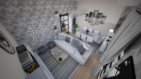 family home 40  - Modern - Living room  - by Stavroula Chatzina