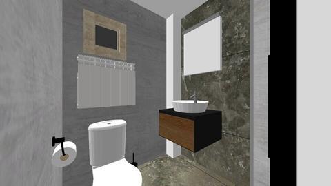 bathroom - Rustic - Bathroom  - by claudiastan