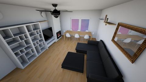 Casa Living Room - Living room - by fantabulastica