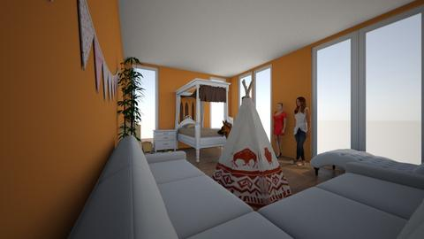 0001 - Kids room  - by fajta fruzsina