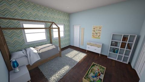 Vanessas 2nd Room - Kids room - by littlvan000