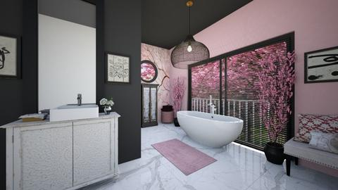 Cherry Blossom Bathroom - Bathroom  - by rasty