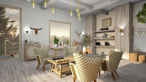 Citizen OAK - Living room  - by ZuzanaDesign