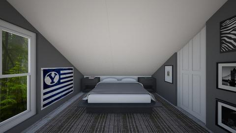 Attic - Bedroom  - by SammyJPili
