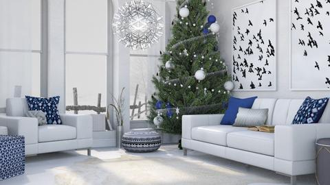 White Christmas - Classic - Living room - by millerfam