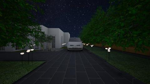garden night - Garden  - by lovasemoke