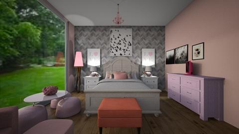 Spoiled Girly Girls Dream - Feminine - Kids room - by HippieHorse