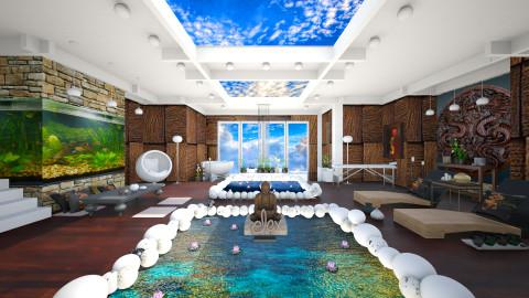 Japanese spa  - Modern - Bathroom  - by Ida Dzanovic