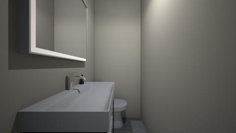 no2 ap - Bathroom  - by claramarie23