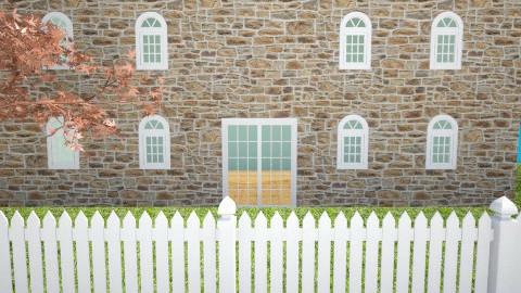 white picket fence - Classic - by aerifia