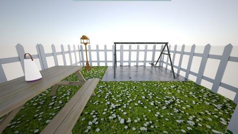Garden - Minimal - Garden  - by RoniRaindrop