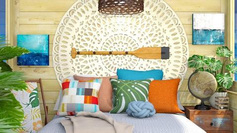 Moanas Room - Bedroom  - by Rebekah Pincock