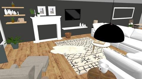 New Flooring - Living room  - by designerjennie