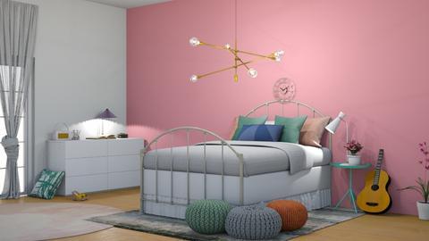 pastel pop - Modern - Bedroom  - by AmySia