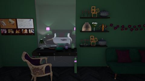 Imagination - Bedroom  - by Khayla Simpson
