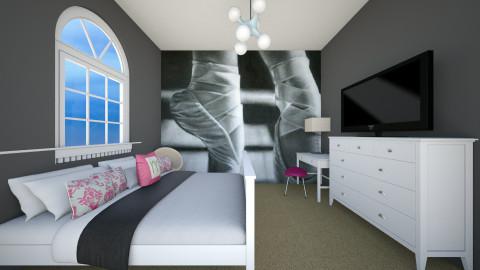 A Dancers dream - Feminine - Bedroom  - by Alana Tracy