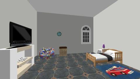 Gabriel Quartos - Modern - Kids room  - by Rebeca Lhotellier