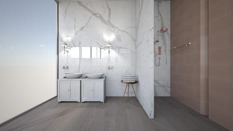 r o s e_g o l d - Modern - Bathroom  - by Marlisa Jansen
