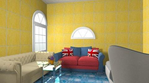 poo - Living room - by reddy121
