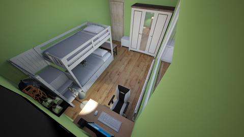 Camera Hatzului - Minimal - Bedroom  - by Pablo_Fernandez_Marcelito_DeLaCruz_