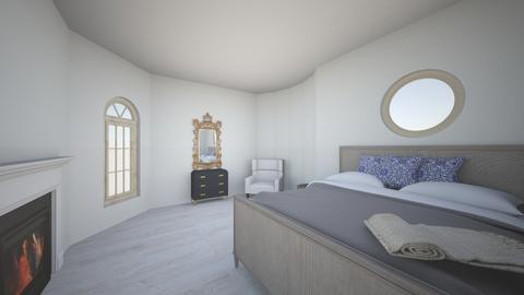 greyandblue perspective - Modern - Bedroom  - by chixa