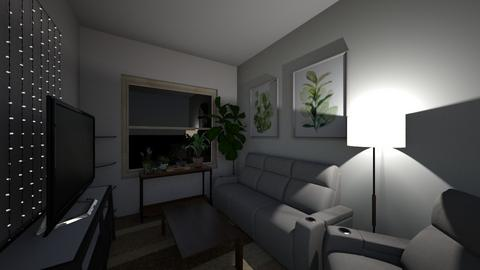 College Dorm Living Room - Minimal - Living room  - by Tanya Fish