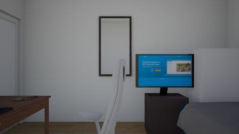Mi cuarto - Modern - Bedroom  - by Oscar Morales124
